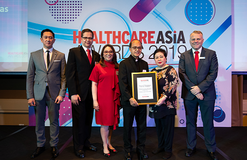 UST Hospital gains Corporate Social Responsibility Award - HealthCare Asia Awards 2019