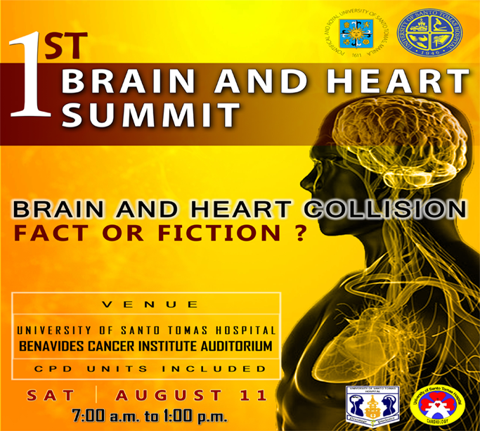 1st Brain and Heart Summit - Brain and Heart Collision Fact or Fiction?